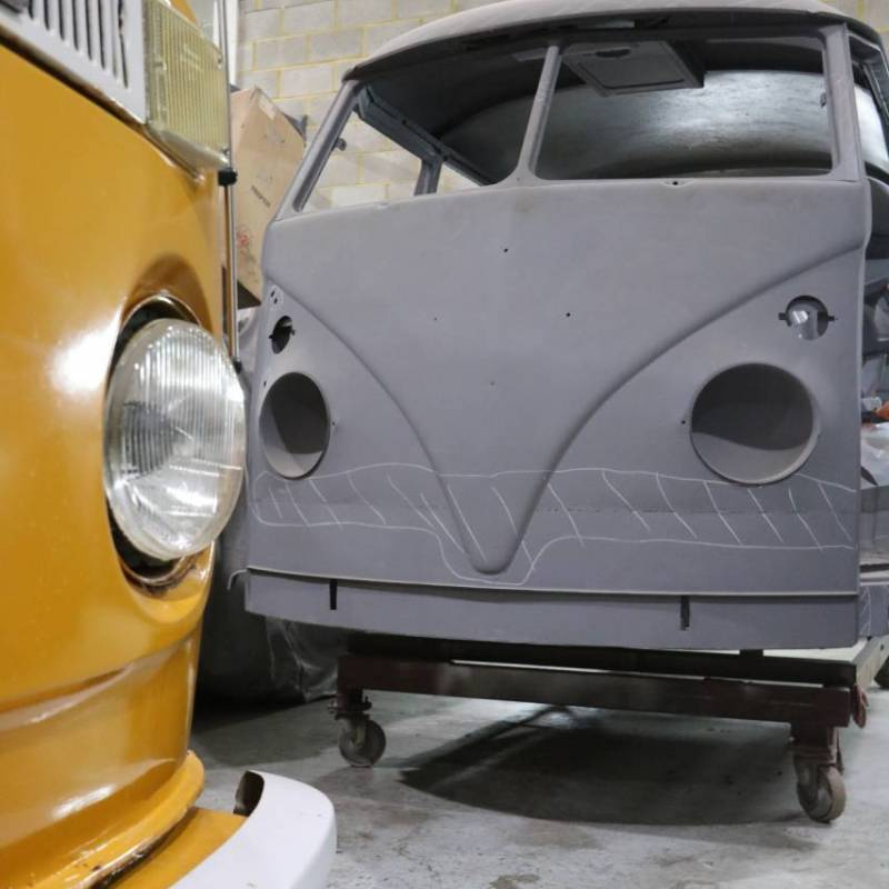 Splitscreen VW Campervan Restoration – WIP