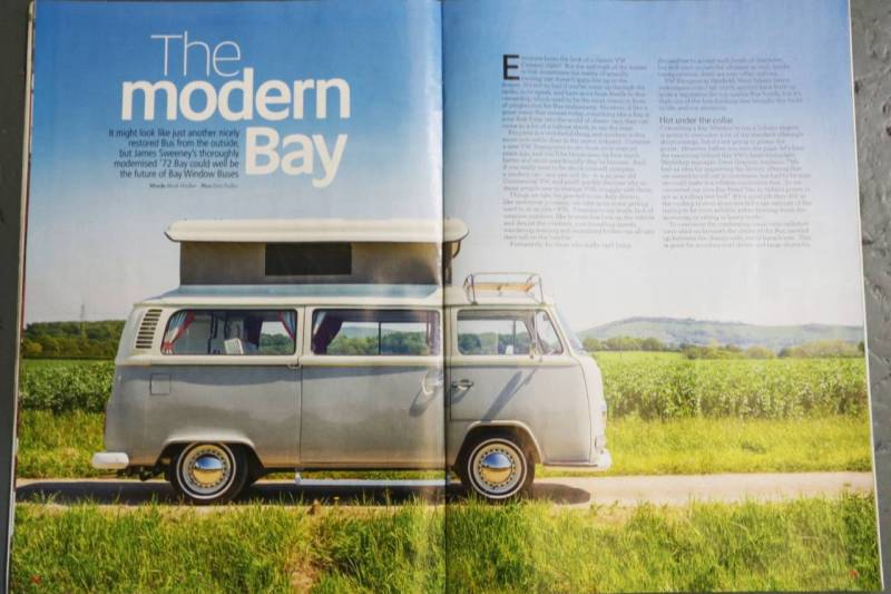 As featured in VW Camper & Bus Magazine