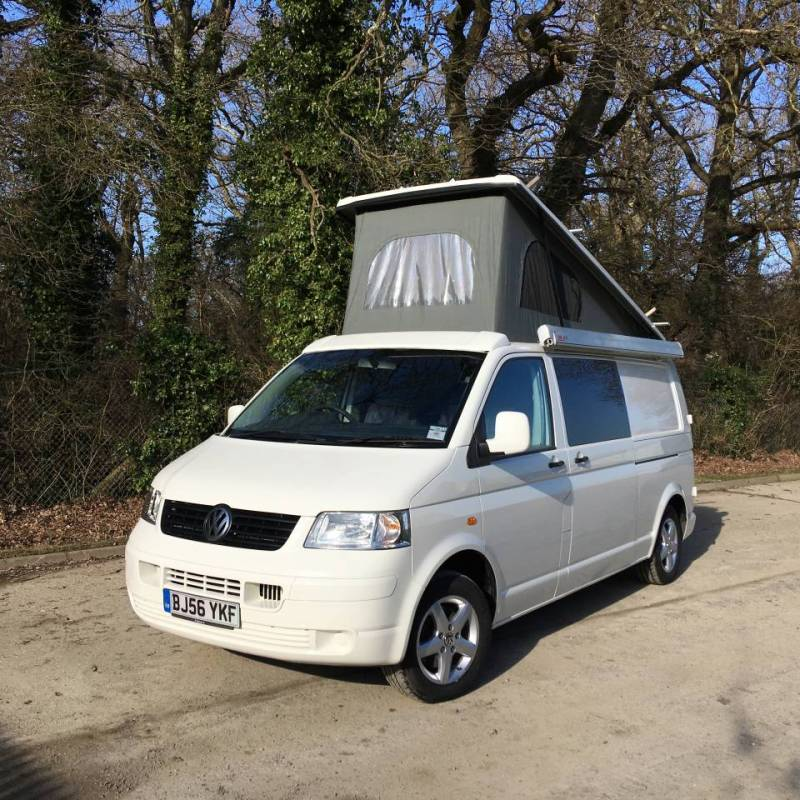 Tip-top T5 Campervan External Refurbishment