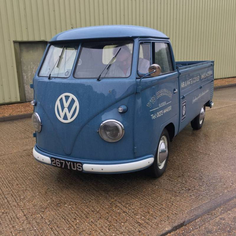 Crash Repair ~ Heritage 1956 Single Cab Splitscreen Volkswagen