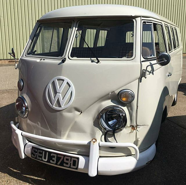 Crash Repair ~ Busted to Beautiful. VW Splitscreen Wedding Bus